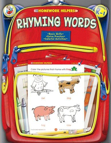 9780768206845: Homework Helpers Rhyming Words Grades Prek - 1