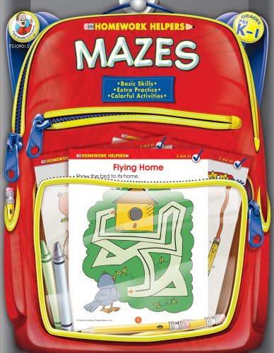 9780768206869: Mazes, Grades PK - 1 (Homework Helper)