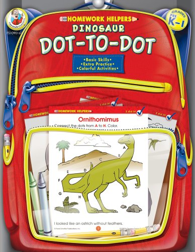 9780768206876: Dinosaur Dot-to-Dot, Grades PK - 1 (Homework Helper)