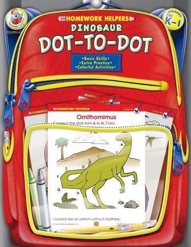 9780768206876: Dinosaur Dot-to-Dot Homework Helper, Grades PreK to 1