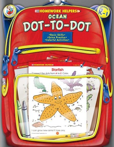 9780768206883: Ocean Dot-to-Dot, Grades PK - 1 (Homework Helper)