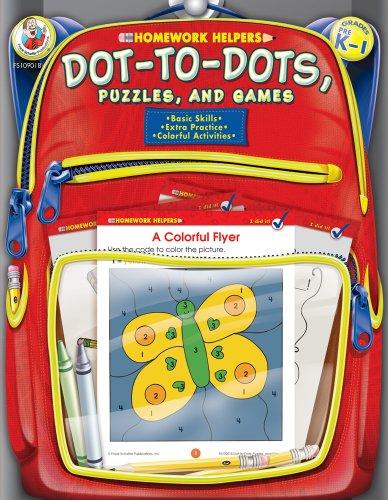 9780768206890: Dot-to-Dot, Puzzles, and Games, Grades PK - 1 (Homework Helper)