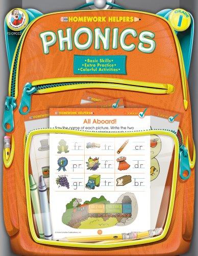 9780768207033: Phonics, Grade 1 (Homework Helper)