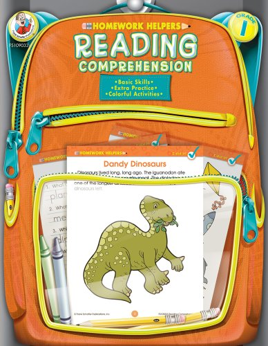 9780768207040: Reading Comprehension, Grade 1 (Homework Helper)