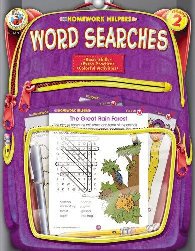 9780768207125: Word Searches, Grade 2 (Homework Helper)
