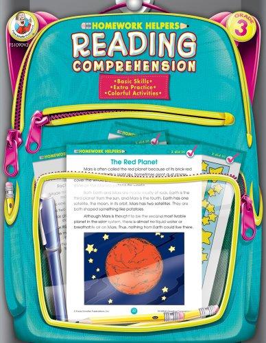 9780768207149: Reading Comprehension, Homework Helpers, Grade 3