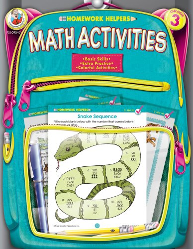9780768207163: Math Activities, Grade 3 (Homework Helper)