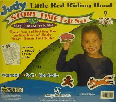 9780768207569: Little Red Riding Hood Nursery Story Time Felt Set