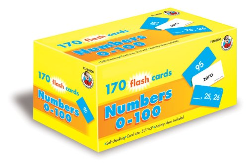 9780768208382: Numbers 0-100 Flash Cards (Math)
