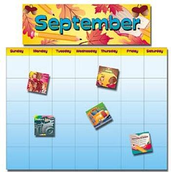 9780768209624: All-Year School Calendar Bulletin Board Set (Bulletin Board Sets)