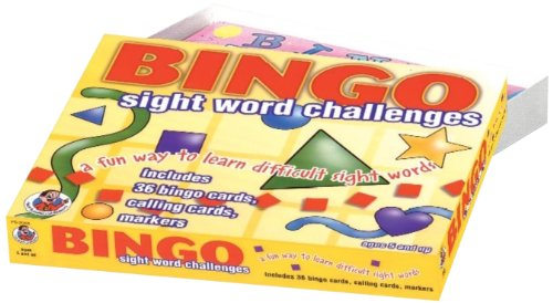 9780768212075: Sight Word Challenges Bingo (Phonics Bingo)