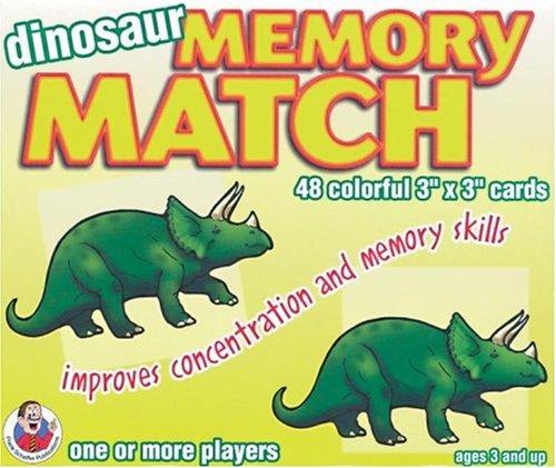 9780768212174: Dinosaurs Memory Match Game