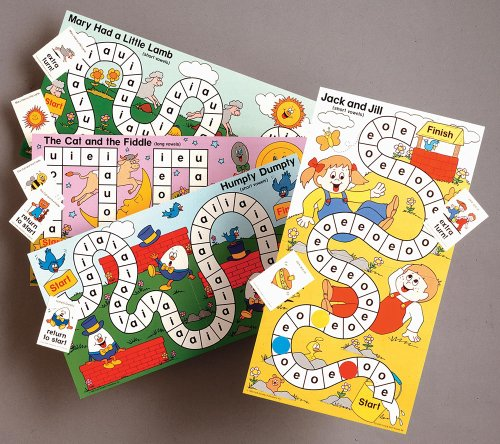9780768212198: Short & Long Vowels Learning Game (Phonics Learning Games)