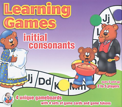 9780768212204: Initial Consonants Learning Game (Phonics Learning Games)