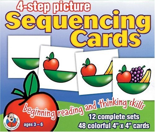 9780768215809: 4-Step Picture Sequencing Cards