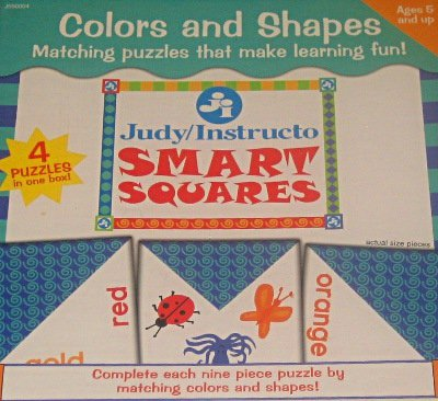 9780768219982: Colors and Shapes (Smart Squares)