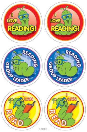 9780768225198: Mr. Wiggle Super Reader Wear 'em Award Badges