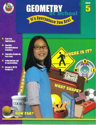 9780768225259: Geometry at School - It's Everyplace You Are!, Grade 5