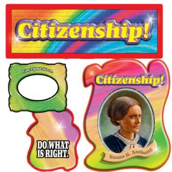 9780768225778: Character Education: Citizenship Bulletin Board Set