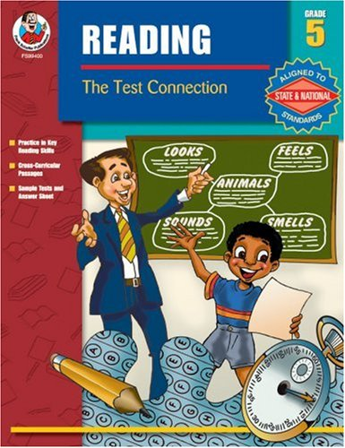 9780768228151: The Test Connection Reading, Grade 5 (Reading the Test Connection)
