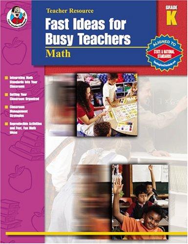 Fast Ideas for Busy Teachers: Math, Grade K: Bittinger, Gayle