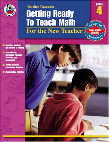 9780768229349: Getting Ready to Teach Math, Grade 4: For the New Teacher