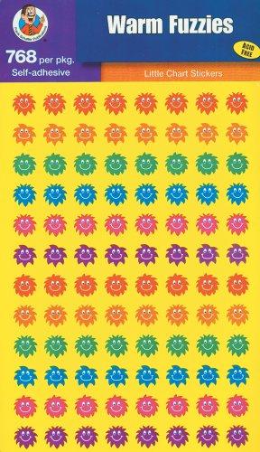 9780768230628: Warm Fuzzies Little Chart Stickers