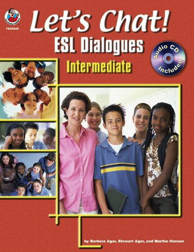 9780768230772: Let's Chat! ESL Dialogues: Intermediate