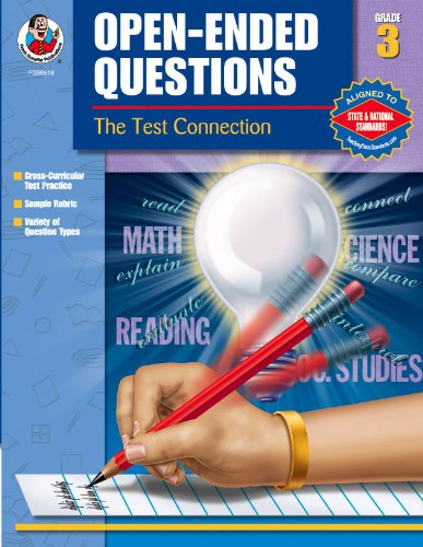 9780768230833: Open-Ended Questions, Grade 3 (The Test Connection)