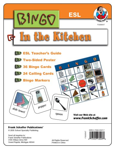 9780768230970: ESL Bingo Game: In the Kitchen (ESL Bingo Games)