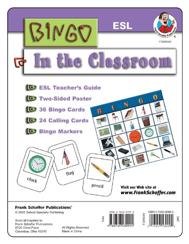 9780768230994: ESL Bingo Game: In Class (ESL Bingo Games)
