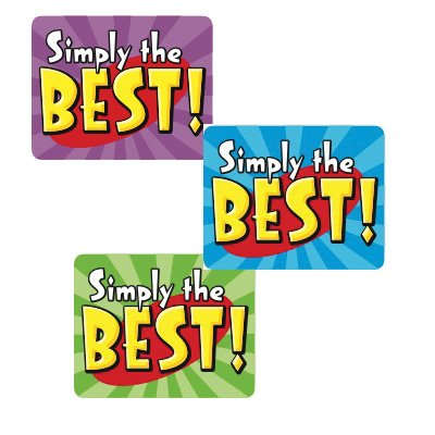 9780768233186: Simply the Best Stickers