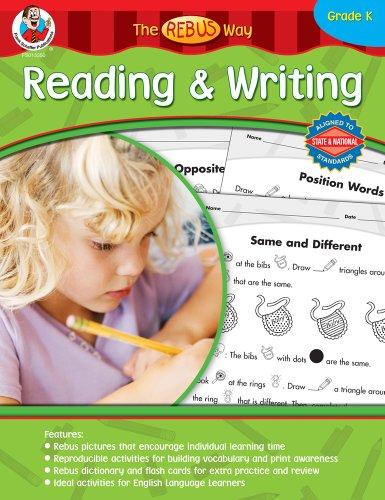 9780768233506: Reading & Writing the Rebus Way, Kindergarten