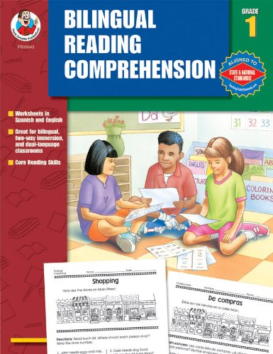 9780768234213: Bilingual Reading Comprehension, Grade 1