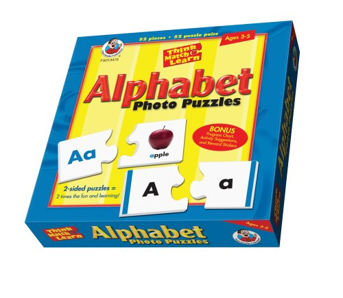 Think, Match, and Learn Alphabet