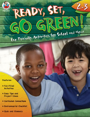 9780768235739: Ready, Set, Go Green! Grades 2-3: Eco-Friendly Activities for School and Home