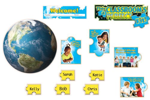 9780768236958: This Classroom's a Perfect Fit! Bulletin Board Set (Bulletin Board Sets)