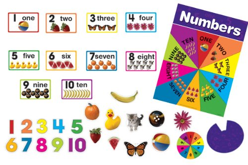 9780768236965: Turn and Teach Numbers 1-10 Bulletin Board Set (Turn and Teach Bulletin Board Sets)