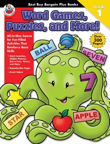 Best Buy Bargain Plus: Word Games, Puzzles, and More! Grade 1 (Best Buy Bargain Books): School ...