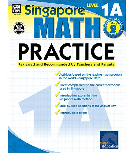 9780768239911: Singapore Math Practice, Level 1A