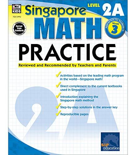 9780768239928: Singapore Math Practice, Level 2A, Grade 3