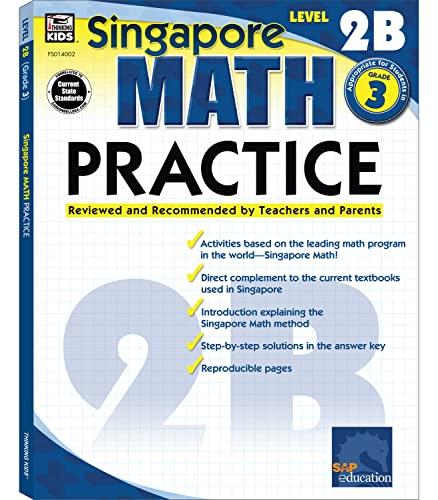 9780768240023: Singapore Math Practice, Level 2B, Grade 3