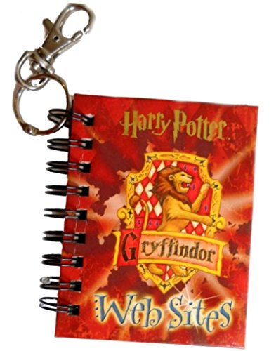 Harry Potter Gryffindor Websites with Other and Key Chain (Harry Potter Backpack Books): Cedco ...