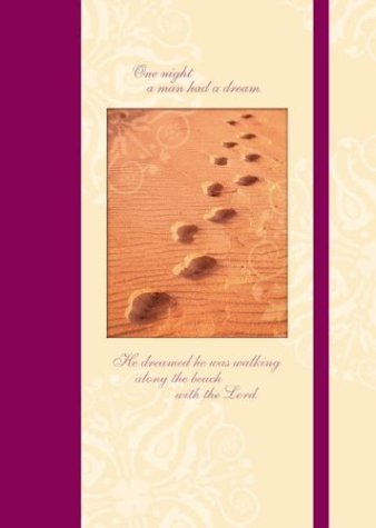 9780768326543: Footprints in the Sand: Journal