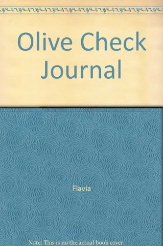 Olive Check Journal (0768327032) by Flavia; Susan Eslick