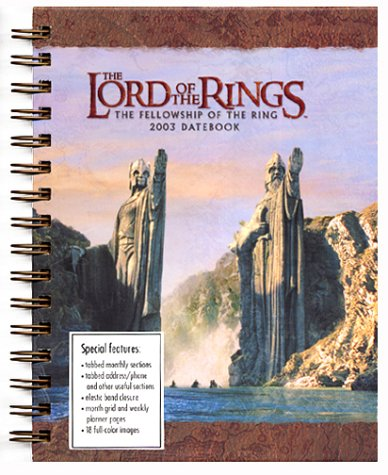 9780768356762: Lord of the Rings Datebook (2003)