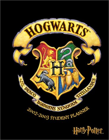 9780768358469: Harry Potter 2002-2003 Student Planner (Also 2013/2014)