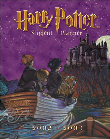 9780768358483: Harry Potter 2002 2003 Calendar: Student Planner