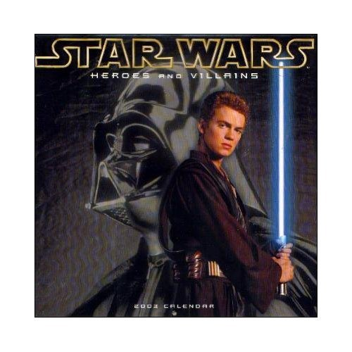 Star Wars Heroes and Villains 2003 Calendar (star wars) (star wars): Bay Street Publishing