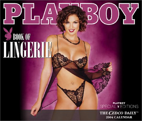 9780768363661: Playboy: Book of Lingerie 2004 Boxed Daily Calendar